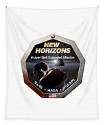 New Horizons Extended Mission Logo Tapestry