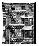 New York City Fire Escapes Tapestry