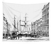 New York Docks, 1856 Tapestry