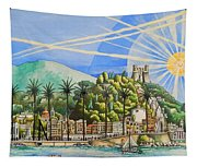 Nice Waterfront Tapestry