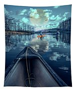 Night Blues Reflections  Tapestry