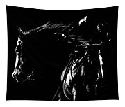 Night Riders Tapestry