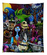 Nightmare Before Christmas Tapestry