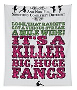 No06 My Silly Quote Poster Tapestry