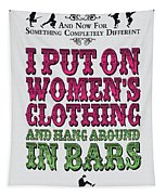 No09 My Silly Quote Poster Tapestry