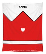 No1027 My Annie Minimal Movie Poster Tapestry