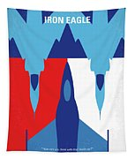 No1028 My Iron Eagle Minimal Movie Poster Tapestry