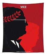 No1043 My Vice Minimal Movie Poster Tapestry