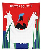 No1048 My Doctor Dolittle Minimal Movie Poster Tapestry