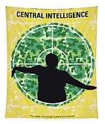 No1049 My Central Intelligence Minimal Movie Poster Tapestry