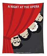 No1053 My A Night At The Opera Minimal Movie Poster Tapestry