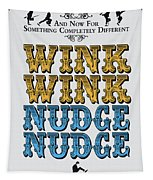 No18 My Silly Quote Poster Tapestry