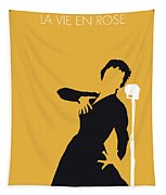 No224 My Edith Piaf Minimal Music Poster Tapestry