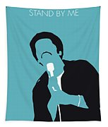 No265 My Ben E King Minimal Music Poster Tapestry
