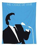 No279 My Julio Iglesias Minimal Music Poster Tapestry