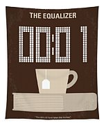 No973 My The Equalizer Minimal Movie Poster Tapestry