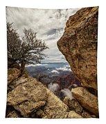 North Rim Fog 1 - Grand Canyon National Park - Arizona Tapestry