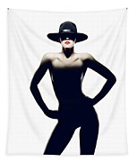 Nude Woman With Hat Tapestry