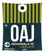 Oaj Oaj Jacksonville Luggage Tag I Luggage Tag I Tapestry