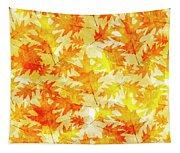 Oak Leaf Pattern Tapestry