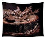 Oak Tree Still Life Tapestry