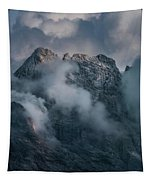 Obscured By Clouds Tapestry by Jaroslaw Blaminsky