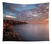 Oceanside Jetty Tapestry