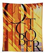 October In Michigan Tapestry
