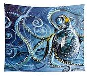 Octopus Of Nine Brains Tapestry