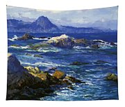 Off Mission Point Aka Point Lobos Tapestry
