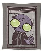 Office Zombie Tapestry
