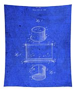 Old Ant Trap Vintage Patent Blueprint Tapestry