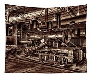 Old Climax Engine No 4 Tapestry
