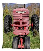 Old Farmall Vintage Tractor Springfield Nh Tapestry
