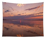 Old Orchard Beach Glorious Sunset Tapestry