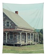 Old Stone Farm House Newbury Vermont Tapestry