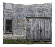 Old Trackside Warehouse Tapestry