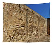 Oldest Castle Of Castro Marim Tapestry