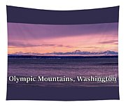Olympic Mountains, Washington Tapestry