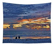 On A Quiet Beach With You Tapestry