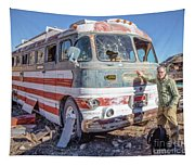 On Location Photographer Edward Fielding In Jerome Arizona Tapestry