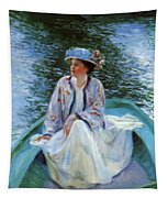 On The River Edge 1910 Tapestry