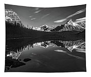 On The Trail Bw Tapestry
