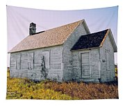 One Room Schoolhouse 1  Tapestry
