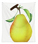 One Yellow Juicy Pear Tapestry