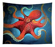 Optical Octopus Tapestry