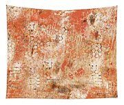 Orange Day Today Tapestry