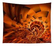 Orange Weave Tapestry