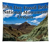 Oregon - John Day Fossil Beds National Monument Blue Basin Tapestry