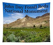 Oregon - John Day Fossil Beds National Monument Sheep Rock 1 Tapestry